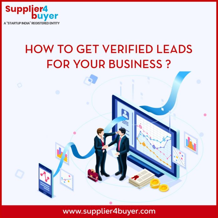 How to Get Verified leads for your business by Supplier4Buyer