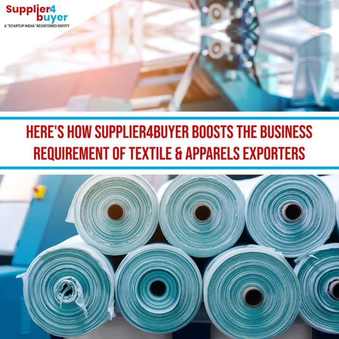 boost the business requirement of Textile & Apparels Exporters