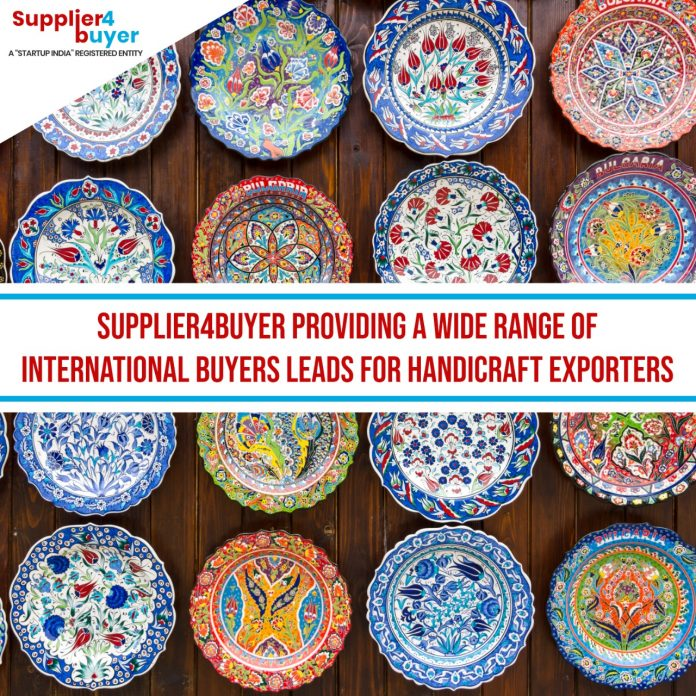 Supplier4Buyer providing a wide range of International Buyers Leads for Handicraft Exporters