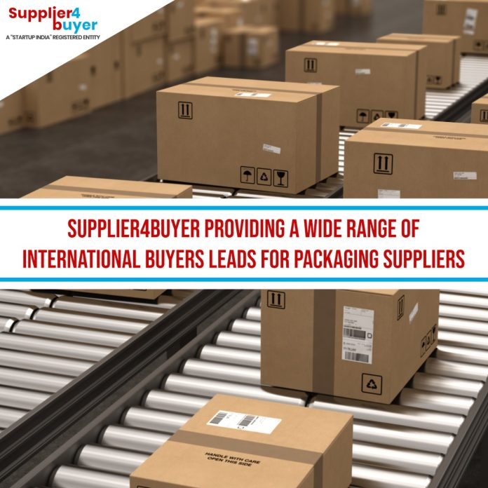 Supplier4Buyer providing a wide range of International Buyers Leads for Packaging Suppliers
